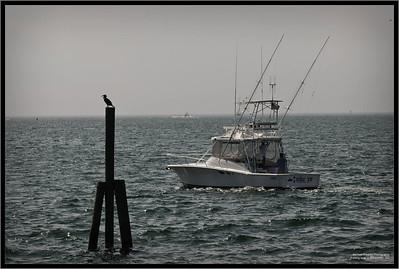 Fishing boat in Gloucester, MA